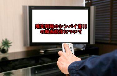 爆笑問題のシンパイ賞!!の見逃し配信や過去回の動画配信について調査